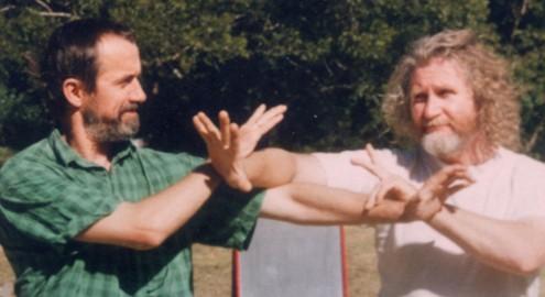 Pau Chui avec Erle Montaigue