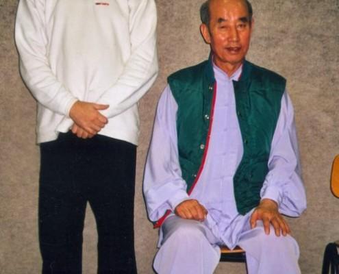 Avec Zhang Guang De