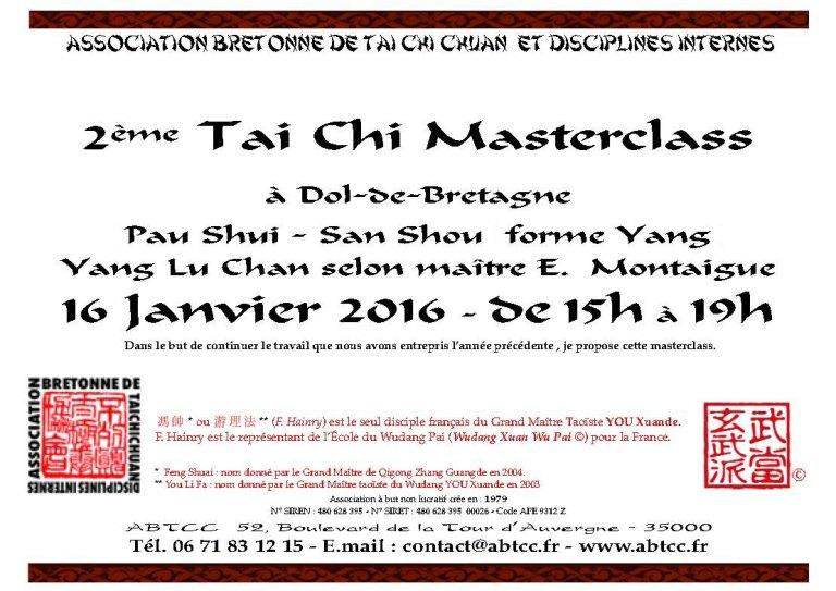 Masterclass 2 2016