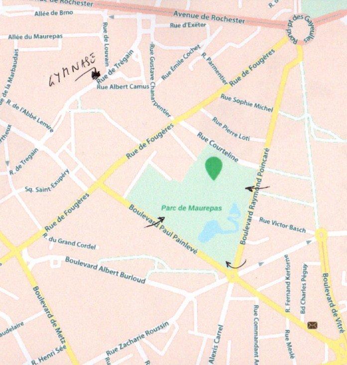 ABTCC-Plan ParcMaurepas & Gymnase Trégain